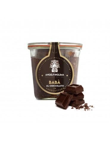 Babà al cioccolato in vasocottura