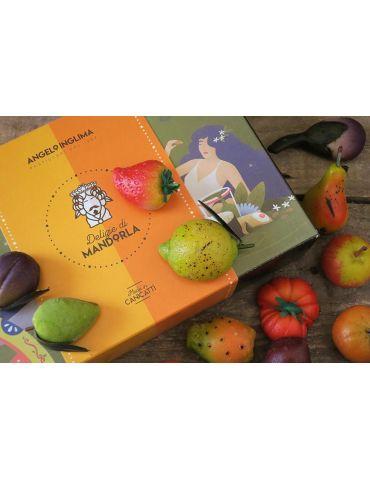 frutta martorana colorata a mano pasticceria angelo inglima vendita online dolci siciliani spedizioni Italia confezioni regalo