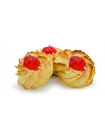 Rosetta con ciliegia pasticceria Angelo inglima vendita online dolci siciliani